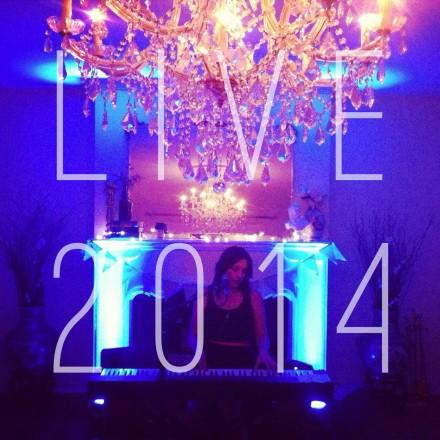LIVE 2014 album cover