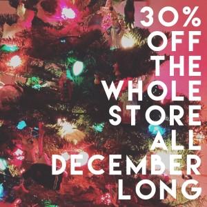 2015 30 percent off coupon