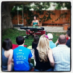 house concert in Boise, ID