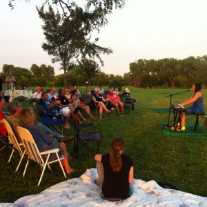 house concert in Manhattan, KS