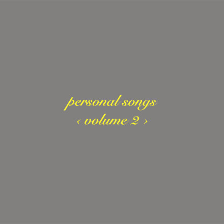 SHANNON CURTIS Personal Songs Volume 2 cd jacket J100 QT91430171