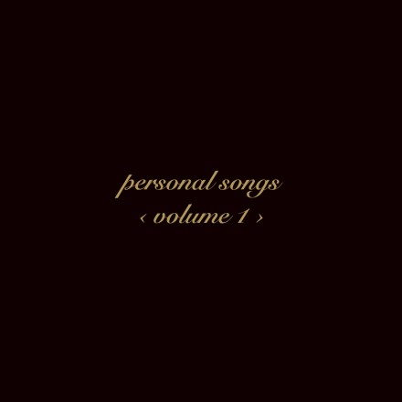 Personal Songs Volume 1 cover 1500px