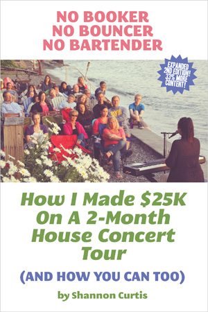 click to see the house concert book on Amazon.com