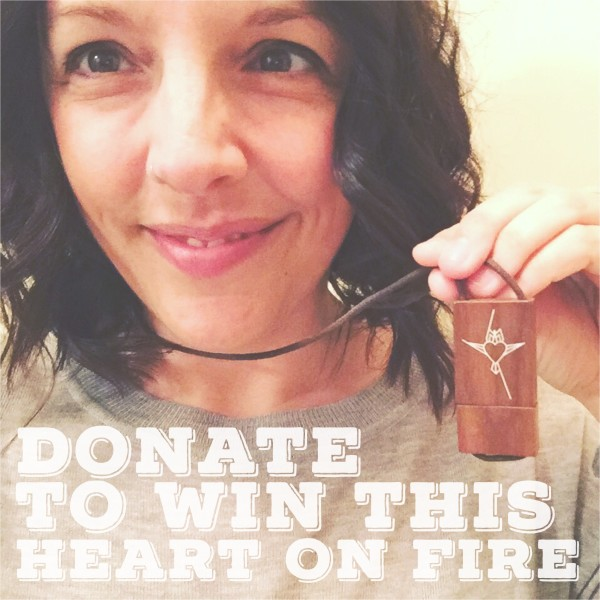 donate to win heart on fire