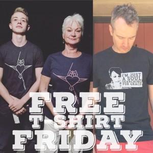 free t shirt friday 2016