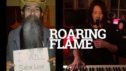 roaring flame custom thumbnail